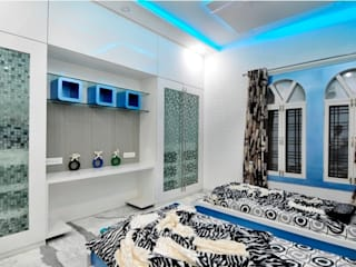 kids bedroom Modern style bedroom by artha interiors private limited Modern