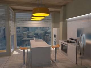 Vienda Young Couple Cocinas de estilo minimalista de Goverd_InteriorDesign Minimalista