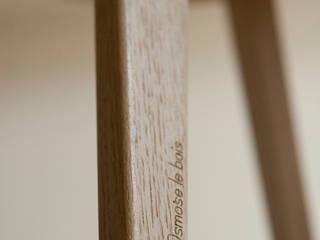 Les tables basses NUBES (chêne massif) par Osmose le bois Moderne