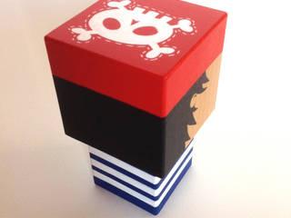 Poupée Pirate cubique:  de style  par Madammag