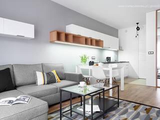 głodni STYLU pracownia projektowa Modern living room