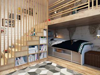 Nursery/kid's room by homify, Industrial