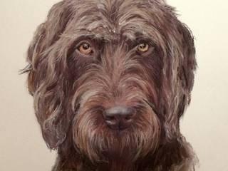 Dog portraits: classic  by ThomasAdamskiArt, Classic