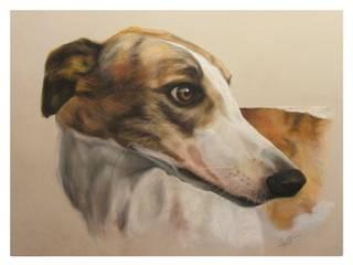 Dog portraits:   by ThomasAdamskiArt