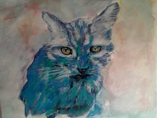 Cat portraits: classic  by ThomasAdamskiArt, Classic