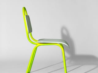 Dining Chair: modern  by Primary Grey, Modern
