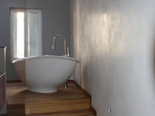 Tadelak à l'italienne Salle de bain par Oswald Olivato