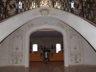 Fresque a tempera Couloir, entrée, escaliers par Oswald Olivato