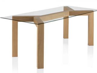 minimalistic Dining room by Gallega Design
