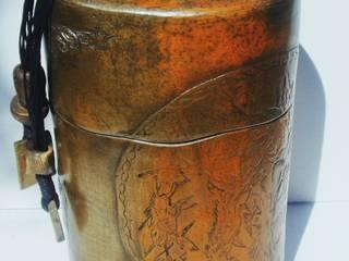 boîte céramique sigillée33cm x 23 cm par nadine lebas TERRA SIG Éclectique