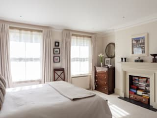 Kensington Townhouse,W8 Bedroom by Justin Van Breda