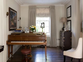 Kensington Townhouse,W8 Study/office by Justin Van Breda