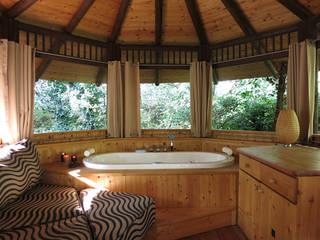 Egzotyczna łazienka od Tree Top Builder Egzotyczny