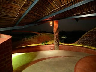 Varandas, marquises e terraços tropicais por iSTUDIO Architecture Tropical
