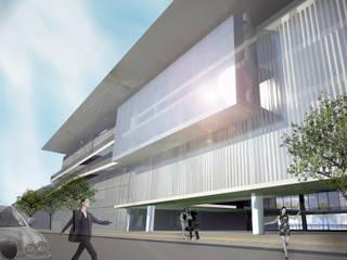 Buenos Aires Contemporary Art Museum por Paula Werneck Arquitetura Moderno