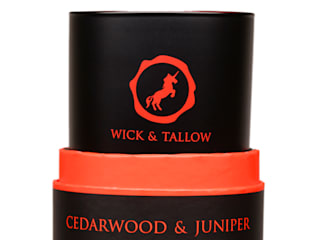 Wick & Tallow Cedarwood & Juniper Candle:   by Wick & Tallow