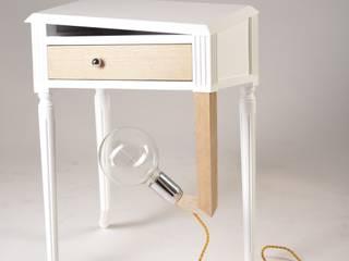 """Lampe/table d'appoint """"Lisbonne"""":  de style  par Koska"""