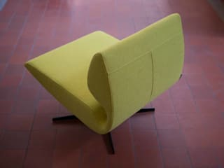 Lounge chair Luna:   door B crea