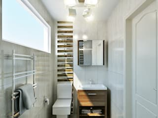 small bathroom Baños de Hampstead Design Hub