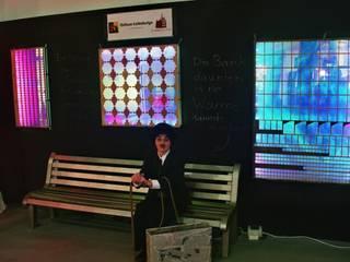 Beheizbare Bank: modern  von Chillout Lichtdesign ,Modern