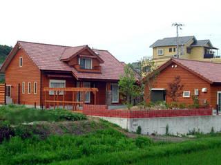 Giardino in stile industriale di 溝口建築設計 Industrial
