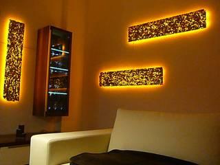 Aufgeschäumtes Aluminium von Chillout Lichtdesign