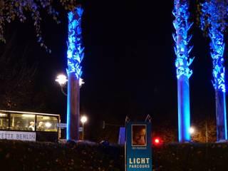 25.Jahrestag des Mauerfalls von Chillout Lichtdesign