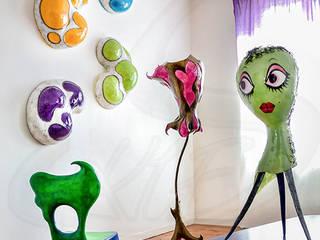 Décor S-Kif: Maisons de style de style eclectique par Sandy Pouget/S-Kif