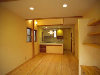 桶川の家 八島建築設計室 オリジナルデザインの リビング