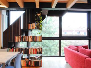 CASA GT Case moderne di MCArc Laboratorio di architettura sostenibile Moderno