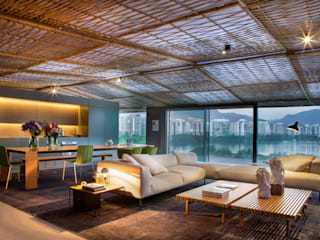 Salas de estar modernas por Gisele Taranto Arquitetura Moderno