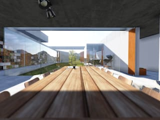 Casa em Paraitinga:   por Escritório Yuri Vital