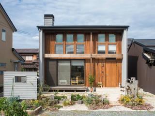 Sola sekkei koubou Casas de estilo minimalista