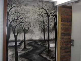 wall mural by extol arts