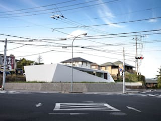 crossing point Casas estilo moderno: ideas, arquitectura e imágenes de 後藤武建築設計事務所 Moderno