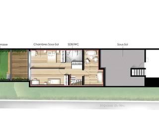 Les Terrasses Maisons par èk Architectes & Designers