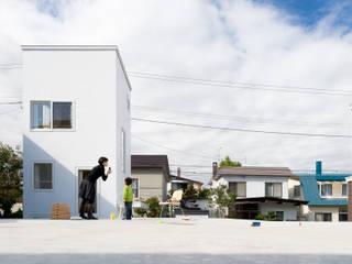 منازل تنفيذ hiroshi kuno + associates,