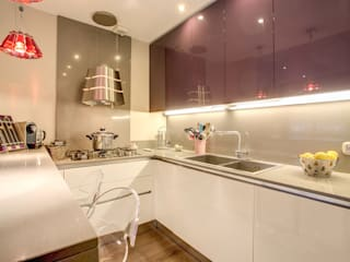 COVIELLO Cucina moderna di MOB ARCHITECTS Moderno