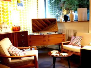 L'œil vintage galerie: Locaux commerciaux & Magasins de style  par L'oeil vintage