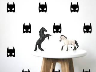 Stickers muraux masques héros noir:  de style  par pöm