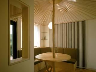 玄関ホール1: 牧野建築計画が手掛けた和室です。