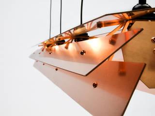 Koperen Lamp van Tiddo de Ruiter Minimalistisch