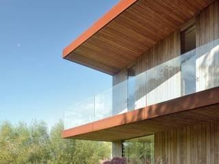 Woonhuis Delft: minimalistische Huizen door CHANGE.NL