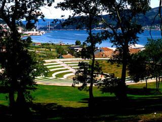 Riouxa Park:  de estilo  de Ricardo Bofill Taller de Arquitectura