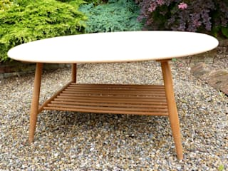 Ercol Coffee Table:   by Linney Hughes