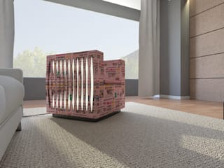 News Paper Chair di Designer Moderno