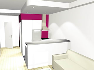 Studio parisien par J2G Design