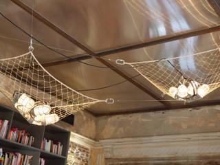 Hotel lounge - Casa Cor Rio 2012 Pareti & Pavimenti in stile classico di Gisele Taranto Arquitetura Classico