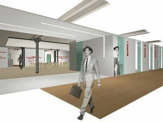 HQ office :  Bürogebäude von SW  Retail+Interior Design,Modern