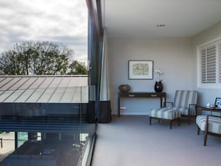 Godden Cres Dorrington Atcheson Architects ห้องนั่งเล่น